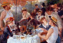 Art history Feb.  17 / Post Impressionism Pointillism = little stitches