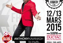 The French Comedy Club Proudly presents Anthony Kavanagh / Anthony Kavanagh the famous Canadian stand up comedian, is coming for the first time in Dubai ready to introduce his brand new international one-man show. Anthony has not changed: blond, tall, Swedish, curling champion ... it's him! It is always a whirlwind of energy and he knows everything: comedy, singing, beatboxing...More biting than ever, Anthony says, skinned and mocks without forgetting anyone, especially himself! Buckle up your showman is back!