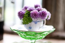 Cup & Flowers