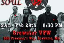 The Groovalottos Gigs / Check out flyers and posts for upcoming current and past shows by The GROOVALOTTOS.