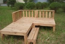 Our Decking and Outdoor Furniture / Some of our recent Australian Cypress outdoor furniture products and projects.