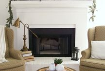 Fireplace + Flooring / by Domestic Fashionista