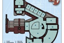 Space Ship Floor Plans