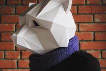 Papercraft / Polygonartt,DIY, Paper,low poly