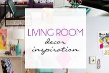 Living Room Decor Inspiration / A collection of inspiring decor ideas for your Living Room.