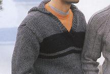 Knitting mens jersey