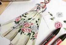 Marker drawings