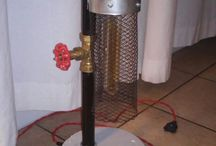 industrial pipe lamps / Handmade industrial pipe lamps