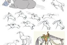 chevaux dessins