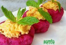 patates çanağında havuç salata