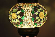 Small Turkish Mosaic Lanterns / Handmade Turkish Mosaic Lighting
