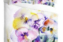 Water Colour Duvet Collection