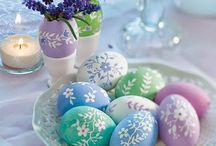 Eggs / Decorated Eggs.  Inspirational pieces and/or lovely decorated eggs. / by Ann Custer