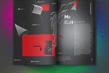 Double Page Spread Design / Lvl 2 design