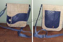 Deri Capraz Omuz Cantası 2 - Cross Leather Shoulder Bag 2