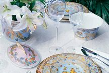 La tua tavola perfetta / Per apparecchiare con glamour chic le vostre tavole...