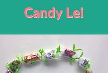 Graduation Leis - Candy Leis / Getting ready for a graduation? Learn how to make an awesome graduation lei below. We've also got some great tutorials on making candy leis and money leis :)