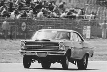 Dragracing back when racing was dangerous and sex was safe.