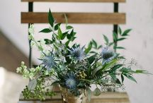 Wedding:  Rustic and Slate Blue