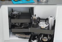 Contemporary Kitchen Storage Units With Vauth-Sagel's Planero