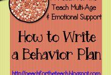 Behavior plans
