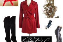 Red Coat Outfits