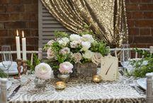 Styleboxe Rustic Glamour Wedding / https://www.styleboxe.com/product/rustic-glamour-wedding-table-box/
