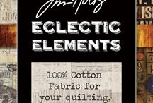 Eclectic Elements by Tim Holtz / Your sewing and quilting pleasure begins with true inspiration from the world of Tim Holtz.  Learn more about Tim and his journey of innovative ideas possible by all.