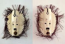 Arte tribal con materiales de desecho / by Manuel P