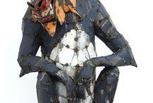 Sculptures by Hannah Kidd