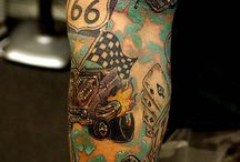 Hot rod tattoo ´s / Tattoo