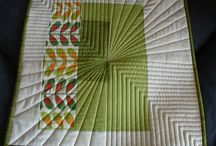 straight Quilting line