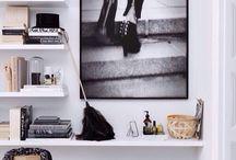 shelves / bookcase