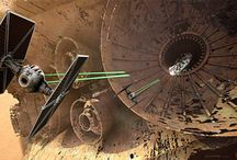 Scientifiction / sci-fi illustrations