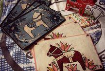 folk art / scandinavian folk art and other folk art inspired things