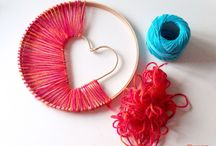 Heart and valentine Crafts / crafts, art and inspiration for heart and valentibes day / by Jen Walshaw