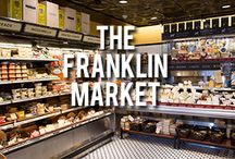 The Franklin Store / Di Bruno Bros. at The Franklin, located in Washington Square West at 834 Chestnut St., is our second largest store and offers our visitors a gourmet market and a European-style coffee bar.