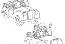 Berenstain bears coloring book / Berenstain bears coloring pages