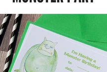 Monster Party Ideas for Children