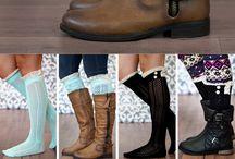 Boot and socks