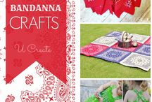 Bandanna Crafts / by Cindy Long
