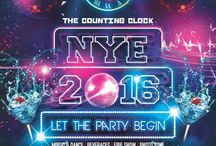 """NYE 2016 """"The Counting Clock"""" / New year party at banera castle, udaipur"""