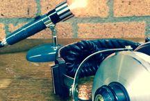 Karaoke! / Microphone Lamps by Briight Vintage&Bulbs