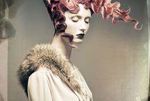 Coiffure - Artistique - Originale - Fun - Mode Hair style