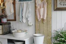 vintage washroom