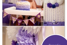 Purple and Lace Party / by JanetGoingCrazy