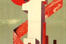 Russian Constructivism / Dominating graphics during Avant Garde Period.