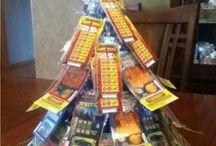 Scratchy ticket tree