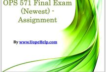 OPS 571 Final Exam (Newest) - Assignment / Leans the best business practices via OPS 571 Final Exam Question With Answers and be a business tycoon.