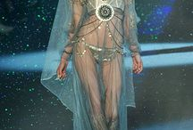 Runway Magic-- Fashion & Make Up / Images from runway shows featuring the clothing, backstage, models, and makeup.